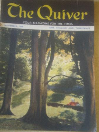 The QUIVER magazine, November 1950 issue for sale. Original British publication from Tilley, Chester
