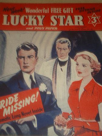 LUCKY STAR, October 13 1952 issue for sale. Original British STORY PAPER from Tilley, Chesterfield,