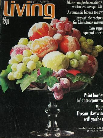 LIVING magazine, December 1972 issue for sale. MONICA FURLONG, H. E. BATES. Original gifts from Till