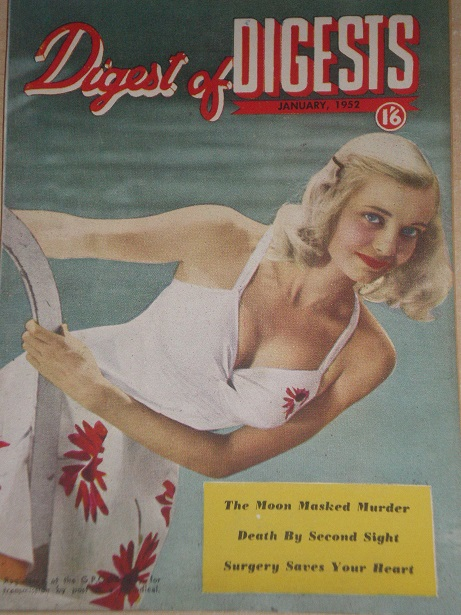 DIGEST OF DIGESTS magazine, January 1952 issue for sale. Original AUSTRALIAN publication from Tilley