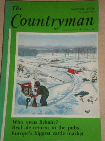 THE COUNTRYMAN magazine, Winter 1977 / 1978 issue for sale. Original British publication from Tilley