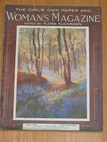 WOMANS MAGAZINE May 1915. Klickmann. Antique G.O.P. Womens publication for sale. Classic images of t