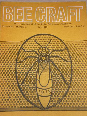 BEE CRAFT magazine, July 1978 issue for sale. Original British publication from Tilley, Chesterfield