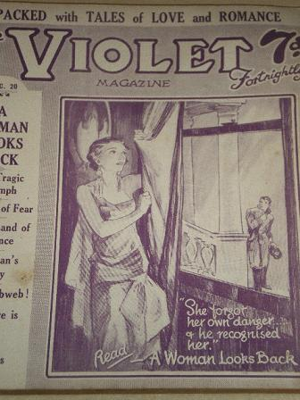 VIOLET magazine, December 20 1929 issue for sale. PACKED WITH TALES OF LOVE AND ROMANCE. Original Br
