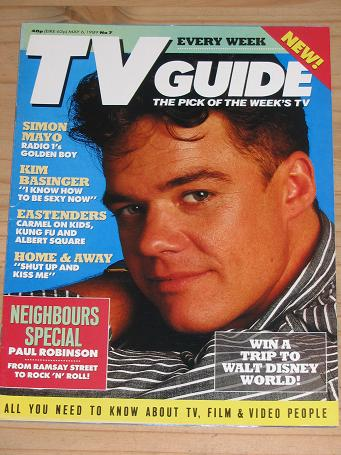 TV GUIDE MAGAZINE MAY 6 1989 BACK ISSUE FOR SALE VINTAGE ENTERTAINMENT PUBLICATION PURE NOSTALGIA AR
