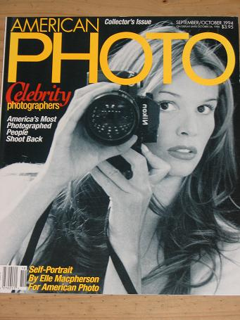 AMERICAN PHOTO MAGAZINE SEPTEMBER OCTOBER 1994 BACK ISSUE FOR SALE ELLE MACPHERSON VINTAGE IMAGES PU