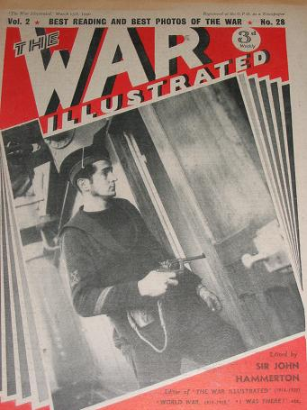 The WAR ILLUSTRATED magazine, March 15 1940 issue for sale. WW2 publication. TILLEYS, England's long