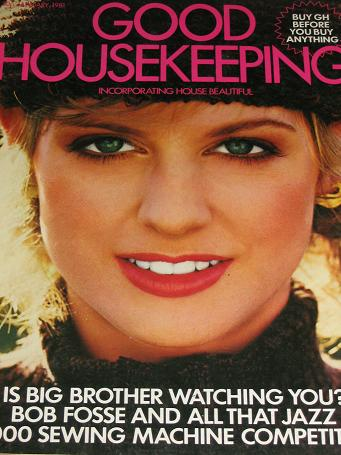 GOOD HOUSEKEEPING magazine, January 1981 issue for sale. Original gifts from Tilleys, Chesterfield,