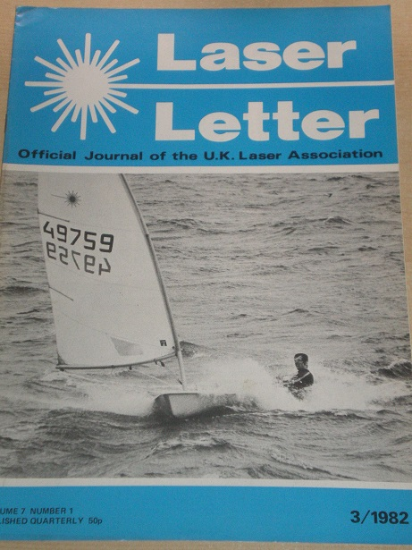 LASER LETTER magazine, Volume 7 Number 1 1982 issue for sale. Original BRITISH publication from Till