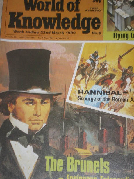 WORLD OF KNOWLEDGE , 22 March 1980 issue for sale. Original British JUVENILE publication from Tilley