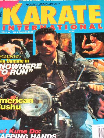 KARATE INTERNATIONAL magazine, March / April 1993 issue for sale. VAN DAMME. Original gifts from Til