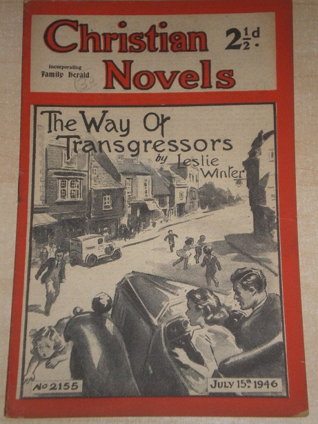 CHRISTIAN NOVELS, July 15 1946 issue for sale. LESLIE WINTER, 2155. Original British publication fro