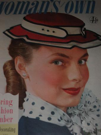 WOMANS OWN magazine, March 1 1956 issue for sale. FICTION, FASHION, HOME. Birthday gifts from Tilley