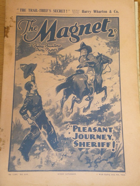 THE MAGNET story paper, June 4 1938 issue for sale. BILLY BUNTER, CHARLES HAMILTON, FRANK RICHARDS,