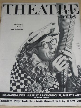 Phil Silvers THEATRE ARTS July 1952. Vintage U.S. publication for sale. Classic images of the twenti