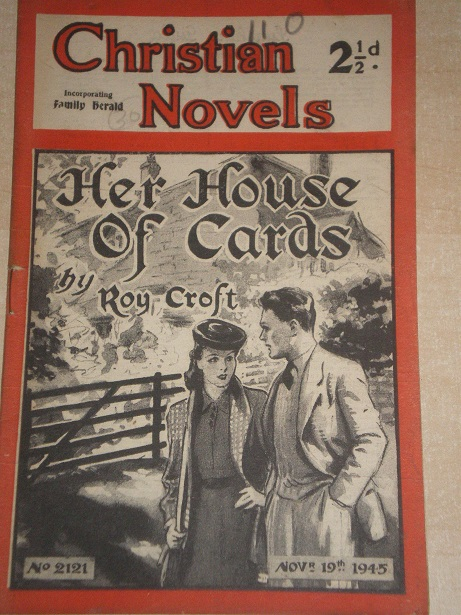 CHRISTIAN NOVELS, November 19 1945 issue for sale. ROY CROFT, 2121. Original British publication fro
