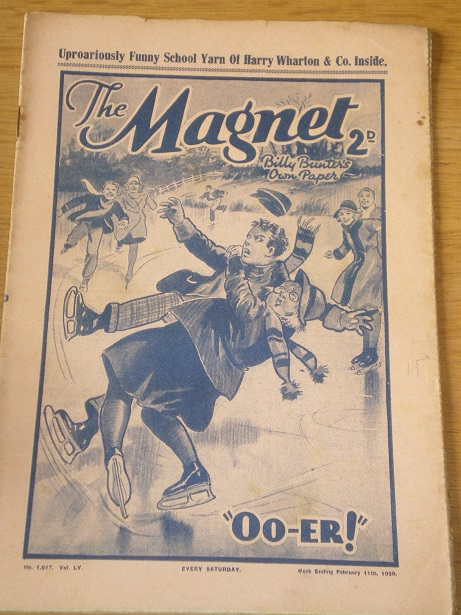 THE MAGNET story paper, February 11 1939 issue for sale. BILLY BUNTER, CHARLES HAMILTON, FRANK RICHA