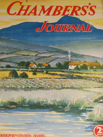 CHAMBERS JOURNAL, September 1952 issue for sale. SHEWELL-COOPER. Classic images of the twentieth cen