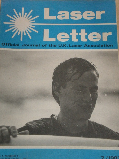 LASER LETTER magazine, Volume 6 Number 4 1982 issue for sale. Original  BRITISH publication from Til