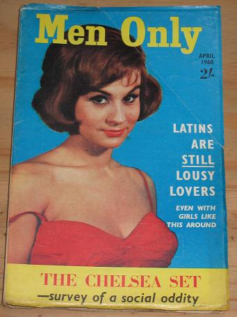 MEN ONLY MAGAZINE APRIL 1960 BACK ISSUE FOR SALE LIANA ORFEI COVER VINTAGE PUBLICATION PURE NOSTALGI