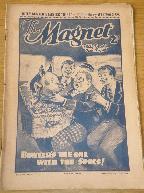 THE MAGNET story paper, April 15 1939 issue for sale. BILLY BUNTER, CHARLES HAMILTON, FRANK RICHARDS