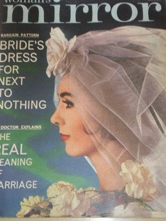 WOMANS MIRROR magazine, February 24 1962 for sale. Original British publication from Tilley, Chester