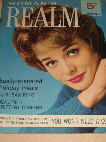 WOMANS REALM magazine, December 30 1961 issue for sale. FICTION, FASHION, KNITTING. Birthday gifts f