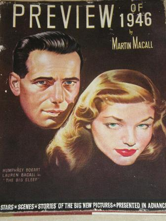 PREVIEW FILM ANNUAL 1946 issue for sale. HUMPHREY BOGART, LAUREN BACALL. Original British MOVIE publ