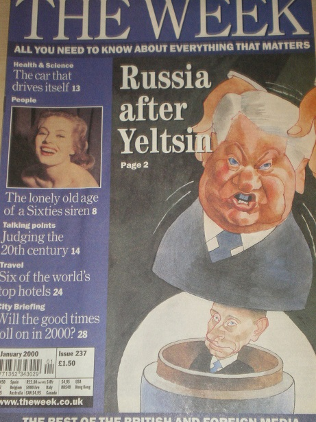 THE WEEK magazine, 8 January 2000 issue for sale. TROG. Original British NEWS publication from Tille