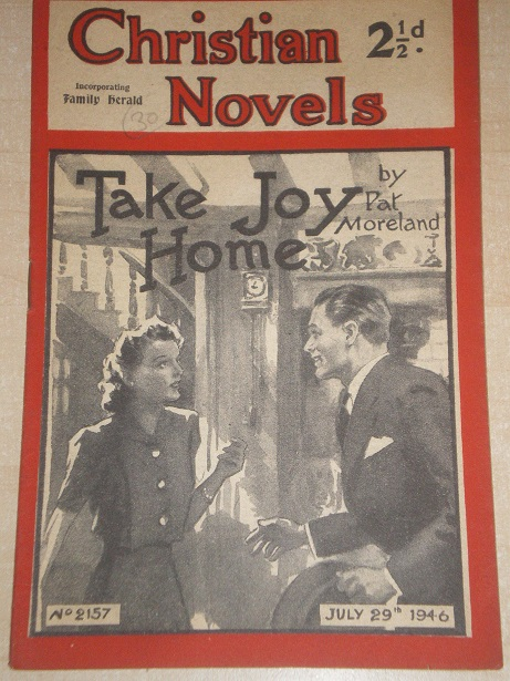 CHRISTIAN NOVELS, July 29 1946 issue for sale. PAT MORELAND, 2157. Original British publication from