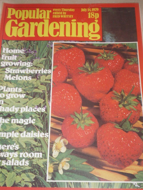 POPULAR GARDENING magazine, July 14 1979 issue for sale. Original BRITISH publication from Tilley, C