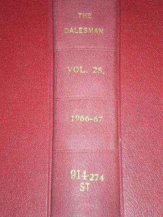 THE DALESMAN magazine, Volume 28 for sale, April 1966 to March 1967. YORKSHIRE DALES. Original bound