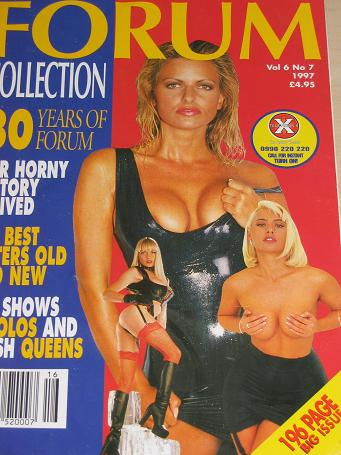 The FORUM COLLECTION magazine, Volume 6 Number 7 issue for sale. 1997 ADULT, SEXUAL RELATIONS public