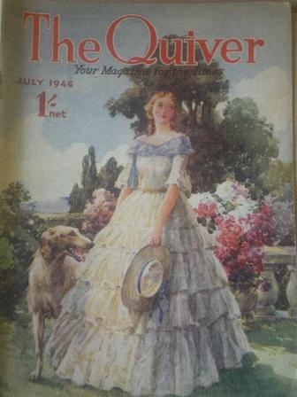The QUIVER magazine, July 1946 issue for sale. Original British publication from Tilley, Chesterfiel