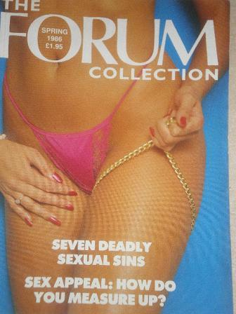 FORUM COLLECTION magazine, Spring 1986 issue for sale. Original British adult publication from Tille