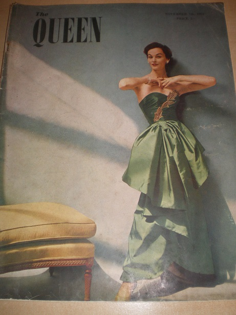 THE QUEEN magazine, November 7 1951 issue for sale. PETER USTINOV. Original UK publication from Till