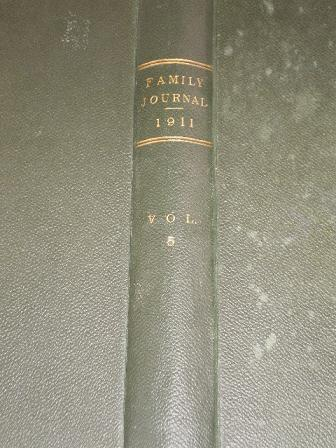 THE FAMILY JOURNAL, Volume 5 for sale, May 6 1911 - October 28 1911. HOUSEHOLD MANAGEMENT, LEWIS HIG