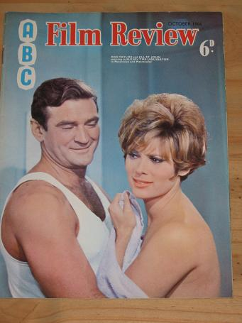 ABC FILM REVIEW MAGAZINE OCTOBER 1966 BACK ISSUE FOR SALE ROD TAYLOR JILL ST. JOHN VINTAGE MOVIE PUB