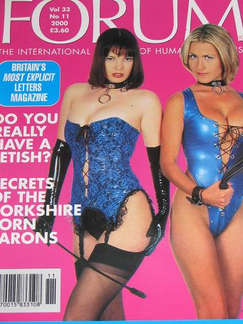 FORUM magazine, Volume 33 Number 11 issue for sale. 2000 ADULT, SEXUAL RELATIONS publication. Classi
