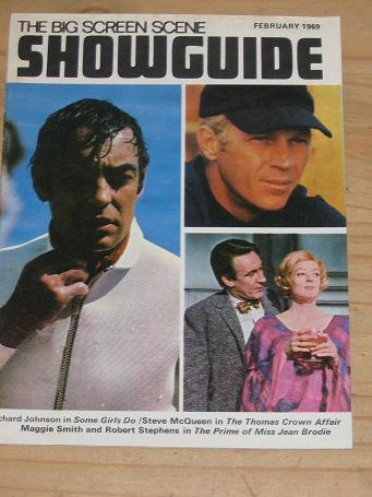THE BIG SCREEN SCENE SHOWGUIDE FEBRUARY 1969 ISSUE FOR SALE SCARCE VINTAGE POCKETSIZE MOVIE PUBLICAT