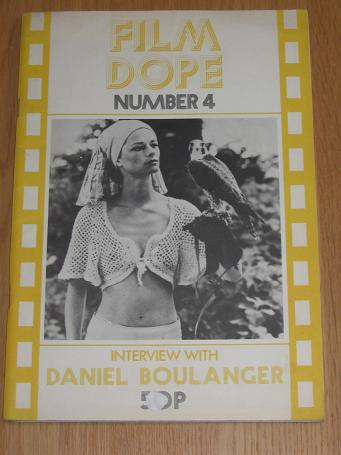 FILM DOPE magazine No. 4, March 1974. Vintage movie publication for sale. Classic images of the twen
