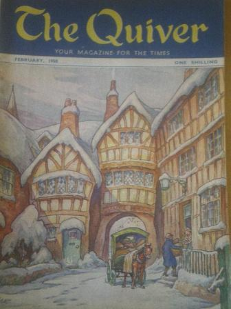 The QUIVER magazine, February 1950 issue for sale. Original British publication from Tilley, Chester