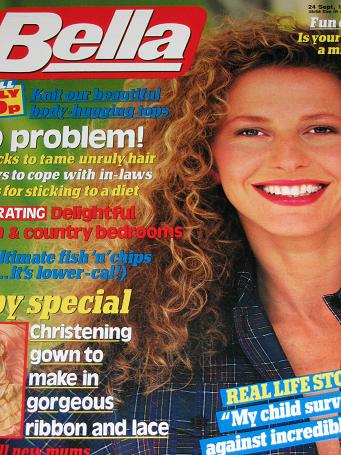 BELLA magazine, 24 September 1988 issue for sale. Original gifts from Tilleys, Chesterfield, Derbysh