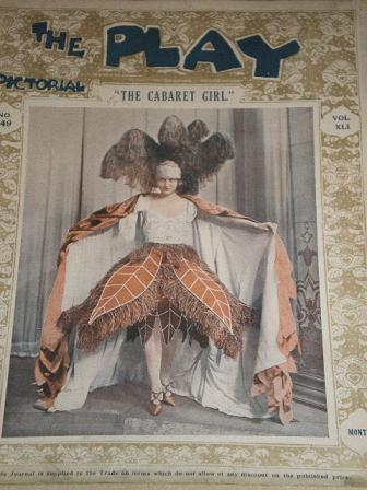 THE PLAY PICTORIAL magazine, Number 249 issue for sale. Original 1922 British THEATRE publication fr