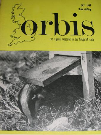 ORBIS magazine, July 1969 issue for sale. East Midlands region of England. TILLEYS, Chesterfield, De