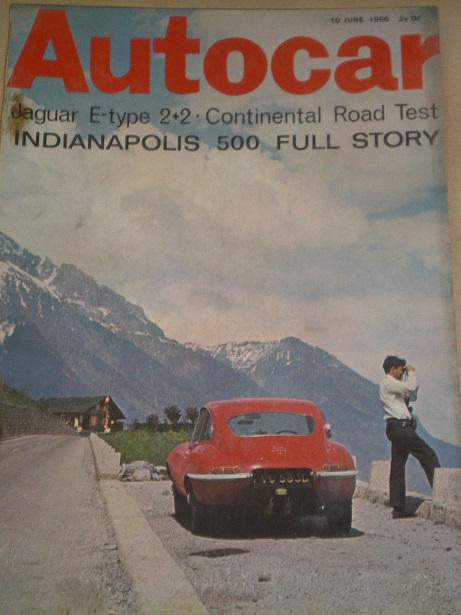 AUTOCAR magazine, 10 June 1966 issue for sale. Original BRITISH MOTORING publication from Tilley, Ch