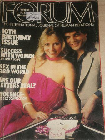 FORUM magazine, Volume 11 Number 1 1978 issue for sale. Original British adult publication from Till