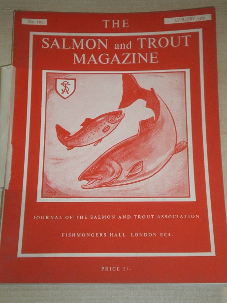 THE SALMON AND TROUT MAGAZINE, Number 179, January 1967 issue for sale. Original British publication
