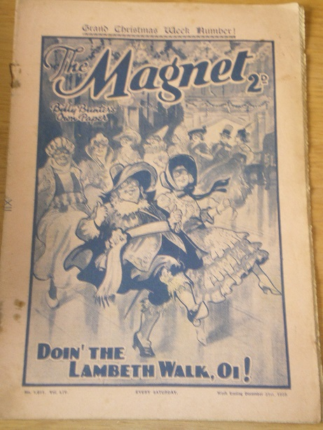 THE MAGNET story paper, December 31 1938 issue for sale. BILLY BUNTER, CHARLES HAMILTON, FRANK RICHA