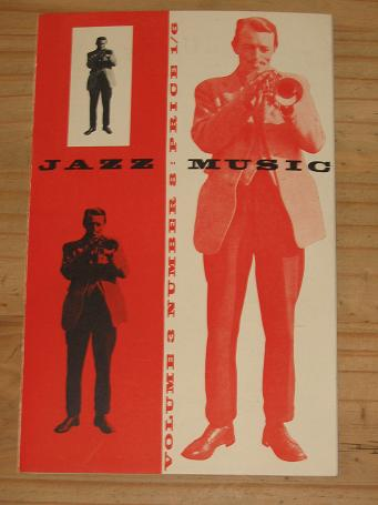 JAZZ MUSIC MAGAZINE 1948 VOLUME 3 NUMBER 8 ISSUE FOR SALE SCARCE VINTAGE MUSIC PUBLICATION PURE NOST